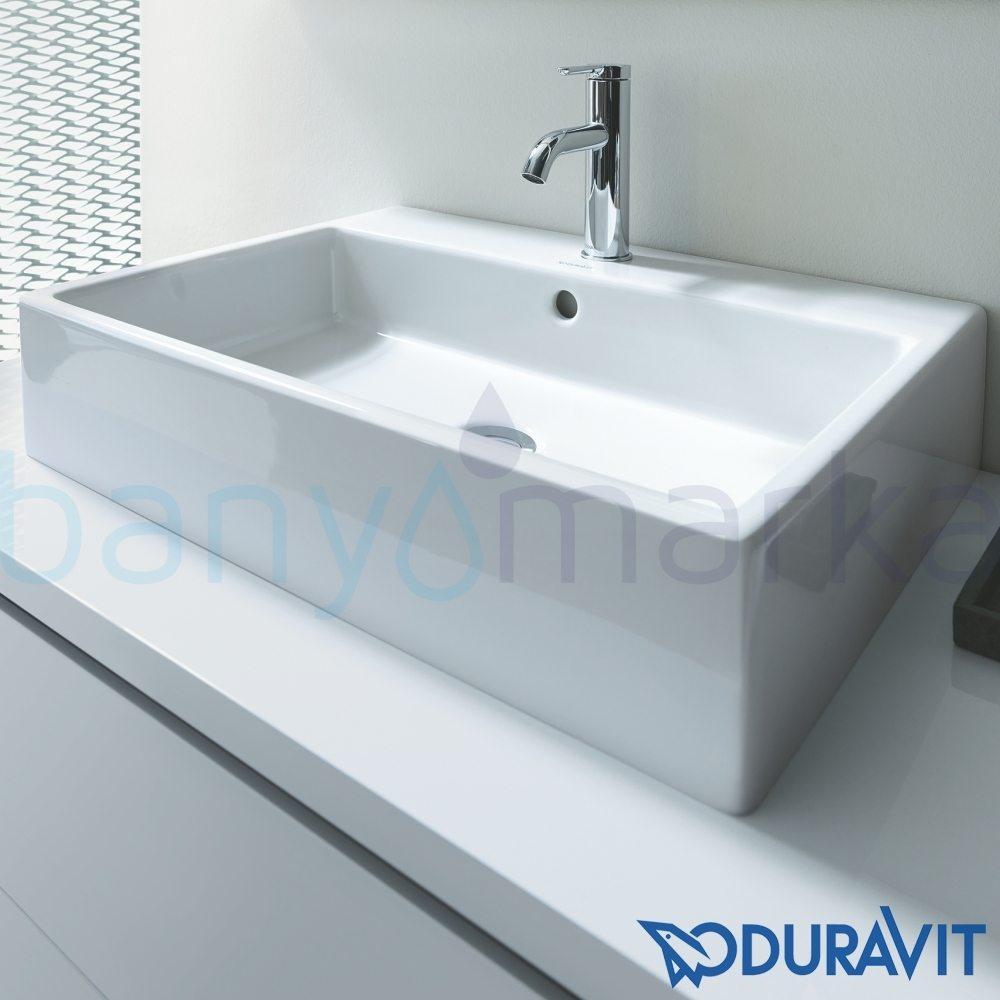 duravit vero lavabo 60 cm 0454600027 online sat banyomarka. Black Bedroom Furniture Sets. Home Design Ideas