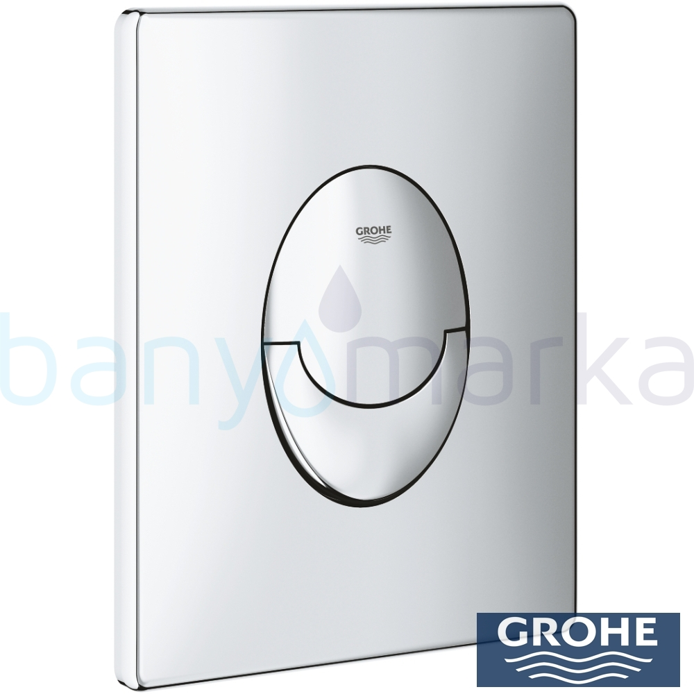 grohe skate air kumanda paneli krom 38505000 online sat banyomarka. Black Bedroom Furniture Sets. Home Design Ideas