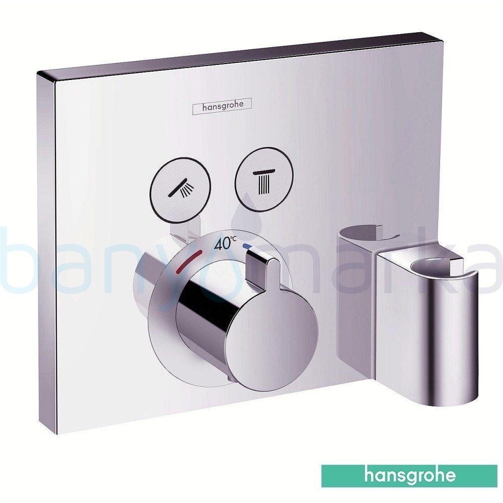 hansgrohe shower select ecostat select termostat. Black Bedroom Furniture Sets. Home Design Ideas