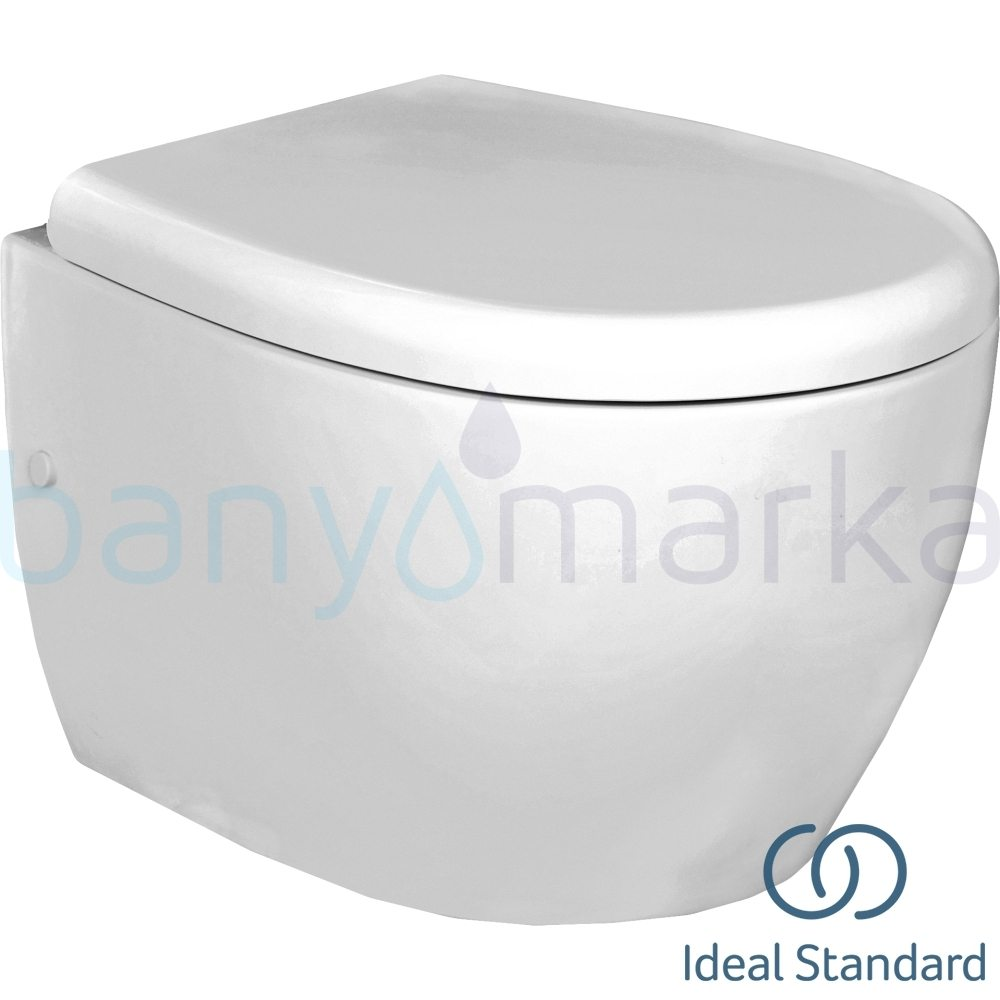 Ideal Standard StradaO Asma Klozet (Yavaş Kapanır Kapak Dahil)