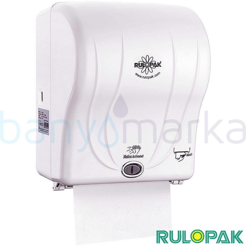 Rulopak Fotoselli Kağıt Havlu Makinası 21 cm (Beyaz)
