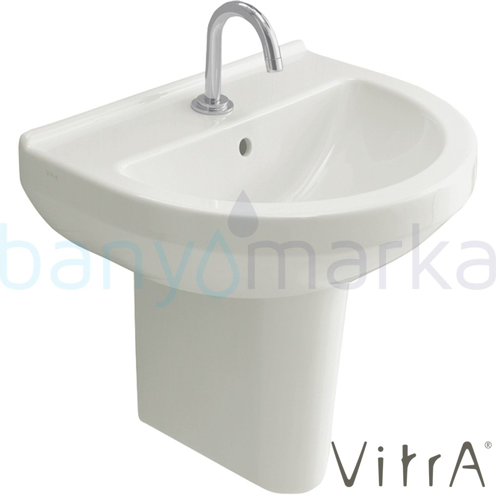 vitra s50 lavabo 55 cm 5301l003 0001 online sat. Black Bedroom Furniture Sets. Home Design Ideas