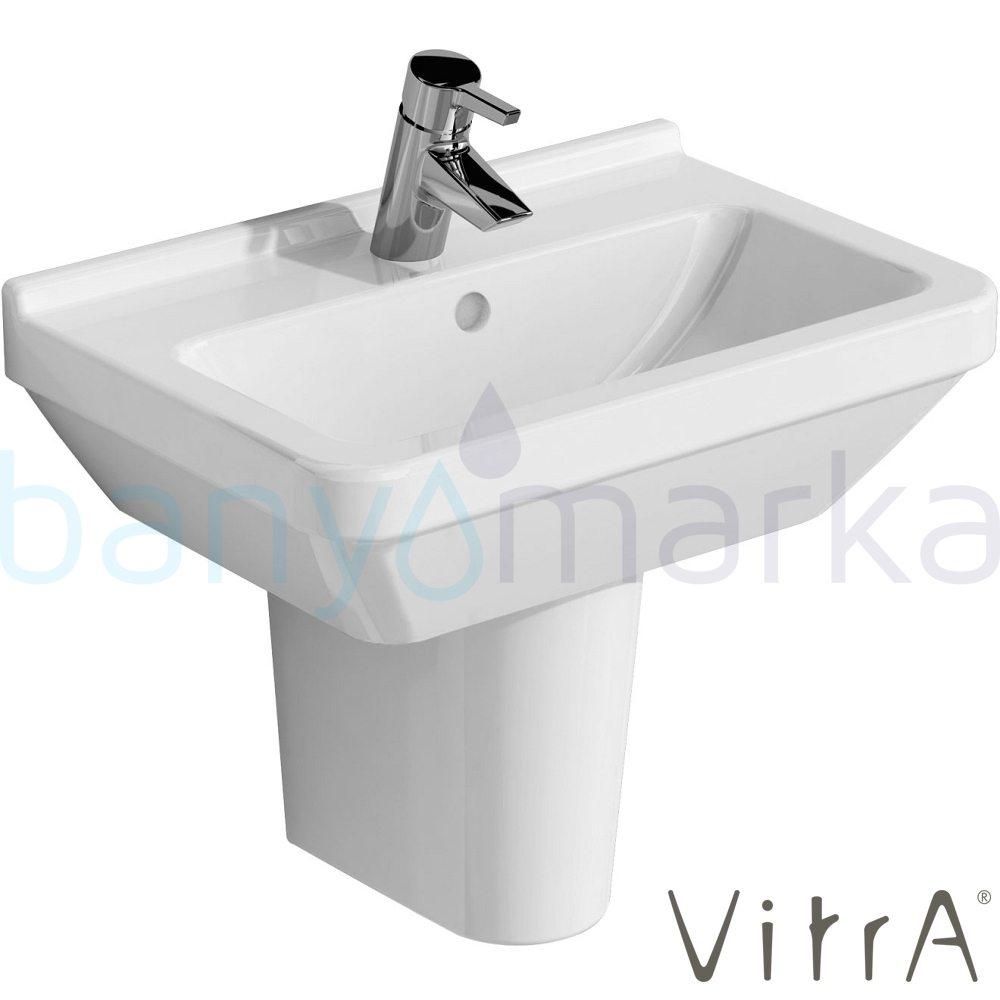 vitra s50 lavabo 55 cm 5341l003 0012 online sat. Black Bedroom Furniture Sets. Home Design Ideas