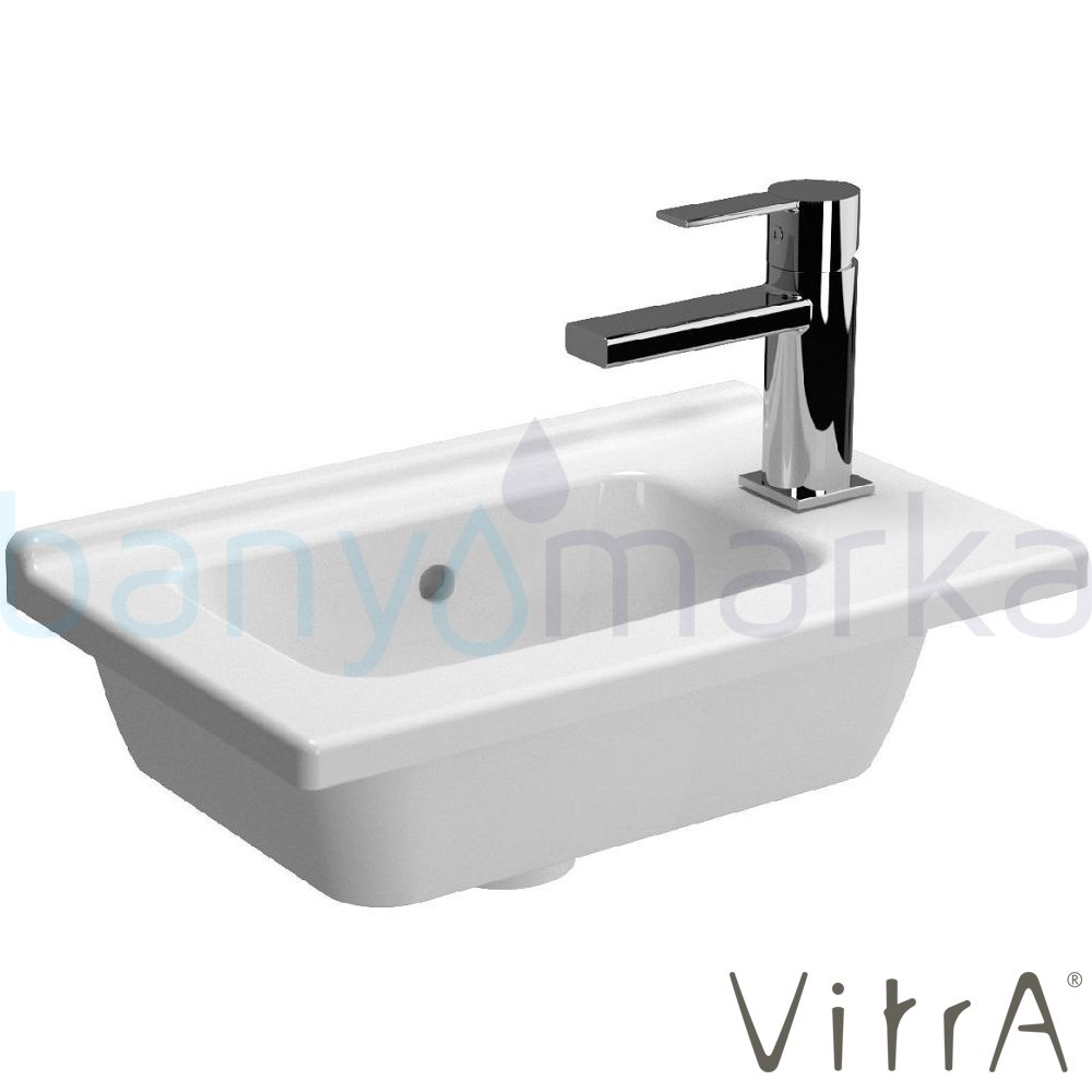 vitra s50 sa dan etajerli lavabo dar 45x28 cm 5345b003. Black Bedroom Furniture Sets. Home Design Ideas