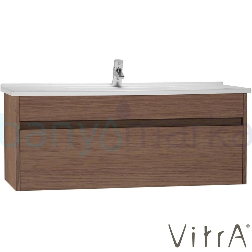 vitra s50 lavabo dolab 120 cm koyu me e lavabo dahil 54748 online sat banyomarka. Black Bedroom Furniture Sets. Home Design Ideas