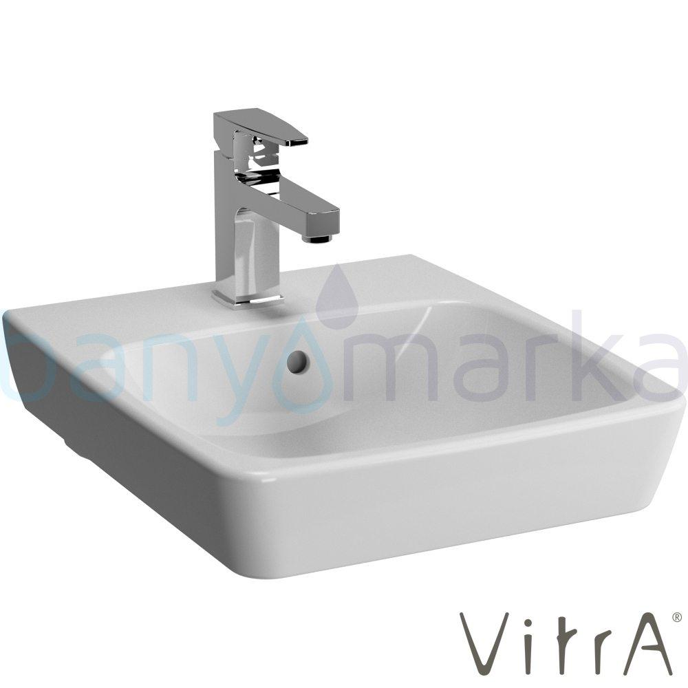 vitra metropole lavabo 40 cm 5660b003 0001 online sat banyomarka. Black Bedroom Furniture Sets. Home Design Ideas
