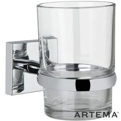 Artema - Artema Q-Line Diş Fırçalığı, Krom
