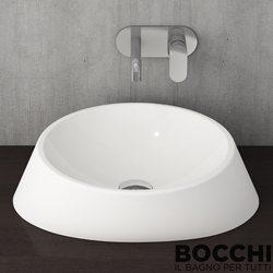 Bocchi - BOCCHI Capri Çanak Lavabo, 44 cm, Parlak Beyaz
