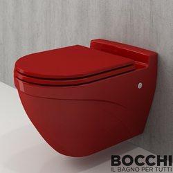Bocchi - BOCCHI Taormina Arch Asma Klozet, Kırmızı