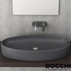 Bocchi - BOCCHI Cortina Çanak Lavabo, 85 cm, Antrasit