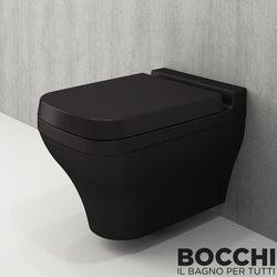 Bocchi - BOCCHI Scala Arch Asma Klozet, Mat Siyah
