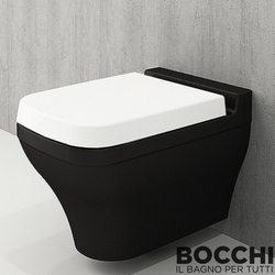 Bocchi - BOCCHI Scala Arch Asma Klozet, Taraftar Serisi, Parlak Siyah