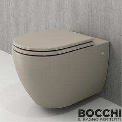Bocchi - BOCCHI Speciale Jet Flush Yıkama Kanalsız Asma Klozet, Kaşmir