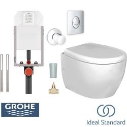 Ideal Standard - Ideal Standard StradaO Asma Klozet + Gömme Rezervuar Seti