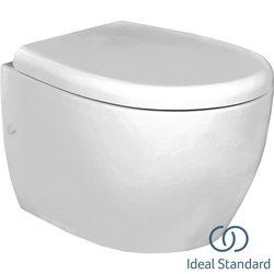 Ideal Standard - Ideal Standard StradaO Asma Klozet (Yavaş Kapanır Kapak Dahil)