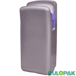 Rulopak - Rulopak Elektrikli Kule Tipi Dikey El Kurutma Makinesi, Gümüş Renkli