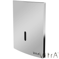 Vitra - Vitra Sıva Altı Fotoselli Pisuvar Yıkama Seti, (Pilli, Krom)