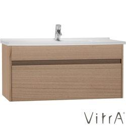 Vitra - Vitra S50+ Lavabo Dolabı 100 cm, Altın Kiraz (Lavabo Dahil)