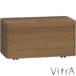 Vitra - Vitra Nest Trendy Tekerlekli Alt Ünite, 80 cm, Hareli Doğal Ahşap