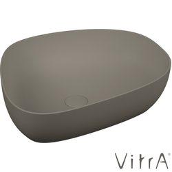 Vitra - Vitra Outline Asimetrik Çanak Lavabo, 56 cm, Mat Gri