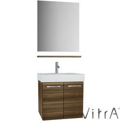 Vitra - Vitra Optima Demonte Banyo Dolabı Seti, 60 cm, Açık Ceviz (Kapaklı Lavabo Dolabı, Ayna, Raf)