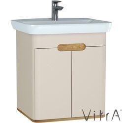 Vitra - Vitra Sento Kapaklı Lavabo Dolabı, Ayaksız, 65 Cm, Mat Krem