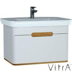 Vitra - Vitra Sento Tek Çekmeceli Lavabo Dolabı, Ayaksız, 80 Cm, Mat Beyaz
