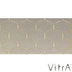 Vitra - Vitra 30x60 Ethereal Açık Bej Platin Geo Dekor Parlak
