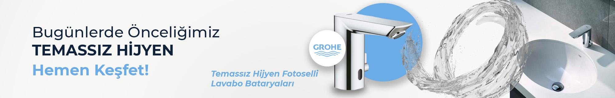 Fotoselli ve Sensörlü Lavabo Bataryaları