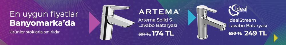 Kampanyalı İndirimli Lavabo Bataryaları