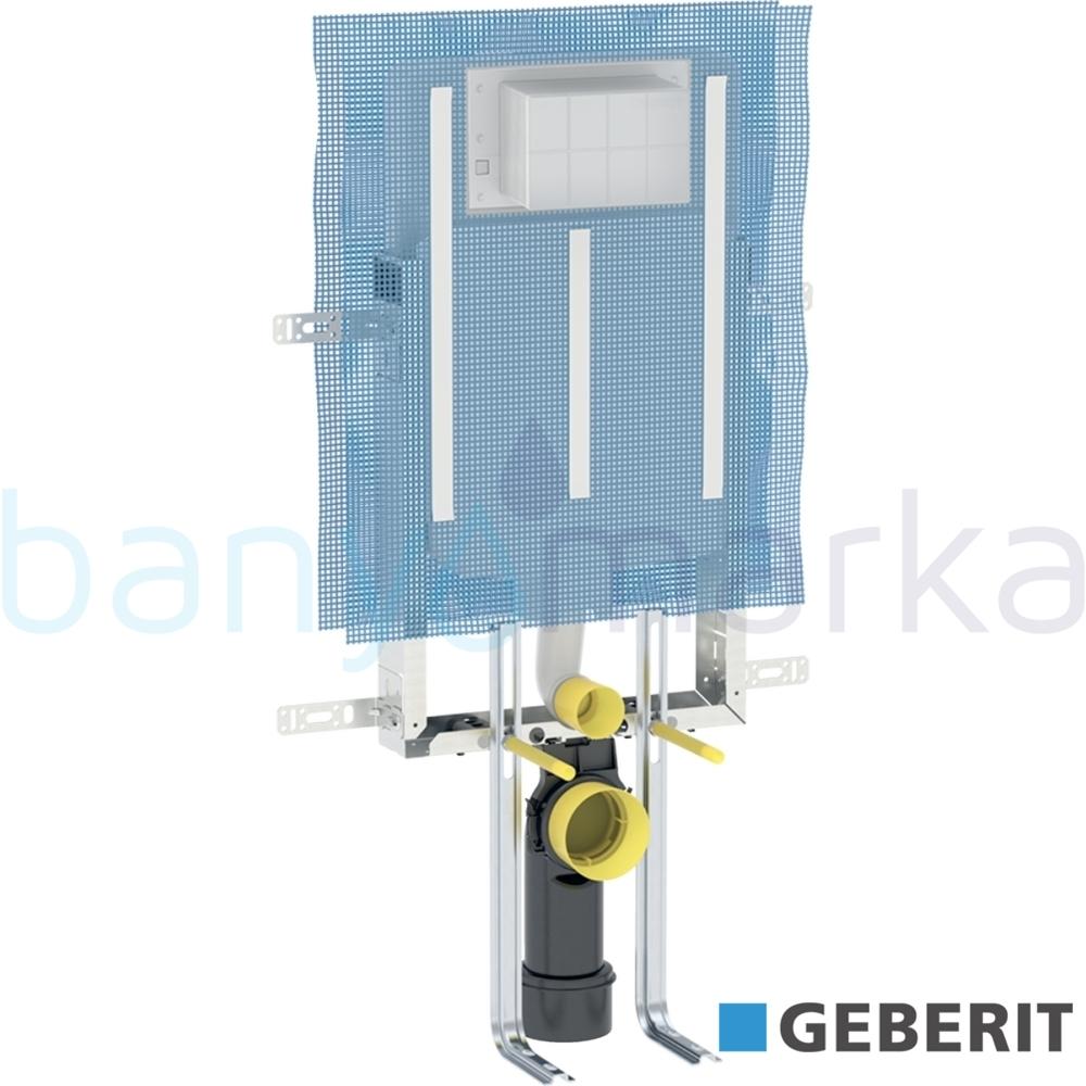 Geberit Alpha Gömme Rezervuar Metal Ayaklı Set, İnce, Kombifix