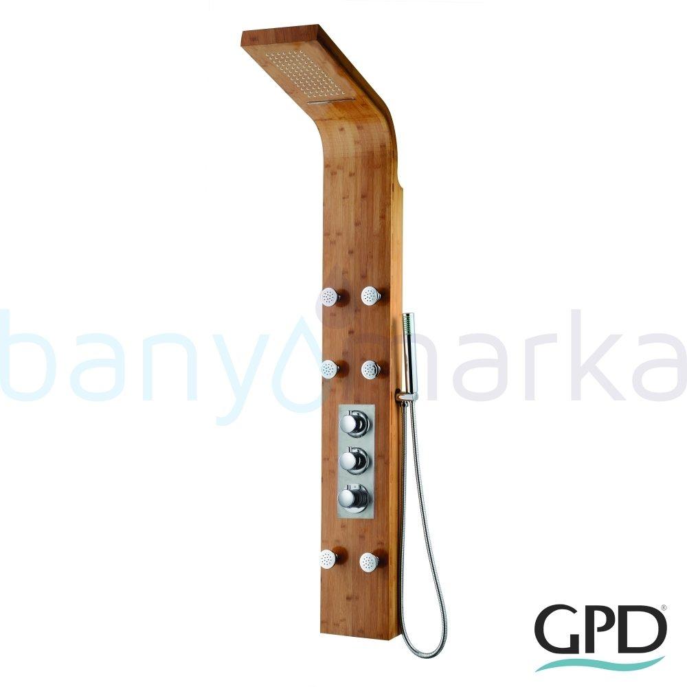 GPD Masajlı Duş Paneli, Bambu