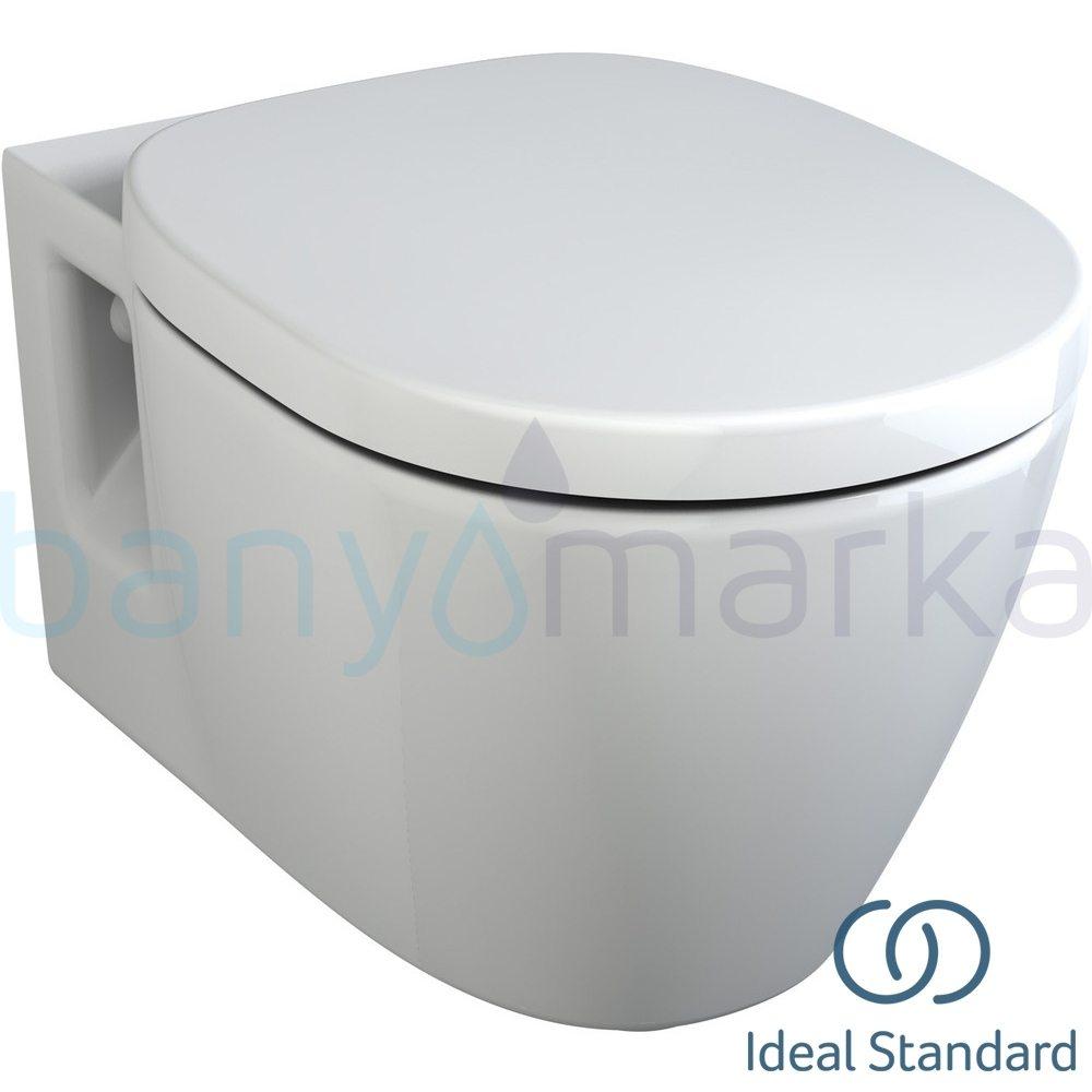 Ideal Standard Concept Asma Klozet (Yavaş Kapanır Kapak Dahil)