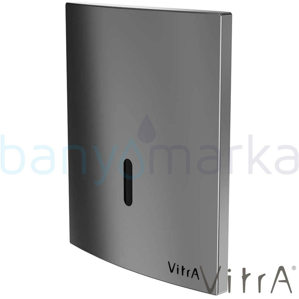 Vitra Sıva Altı Fotoselli Pisuvar Yıkama Seti, (Elektrikli, Mat Krom)