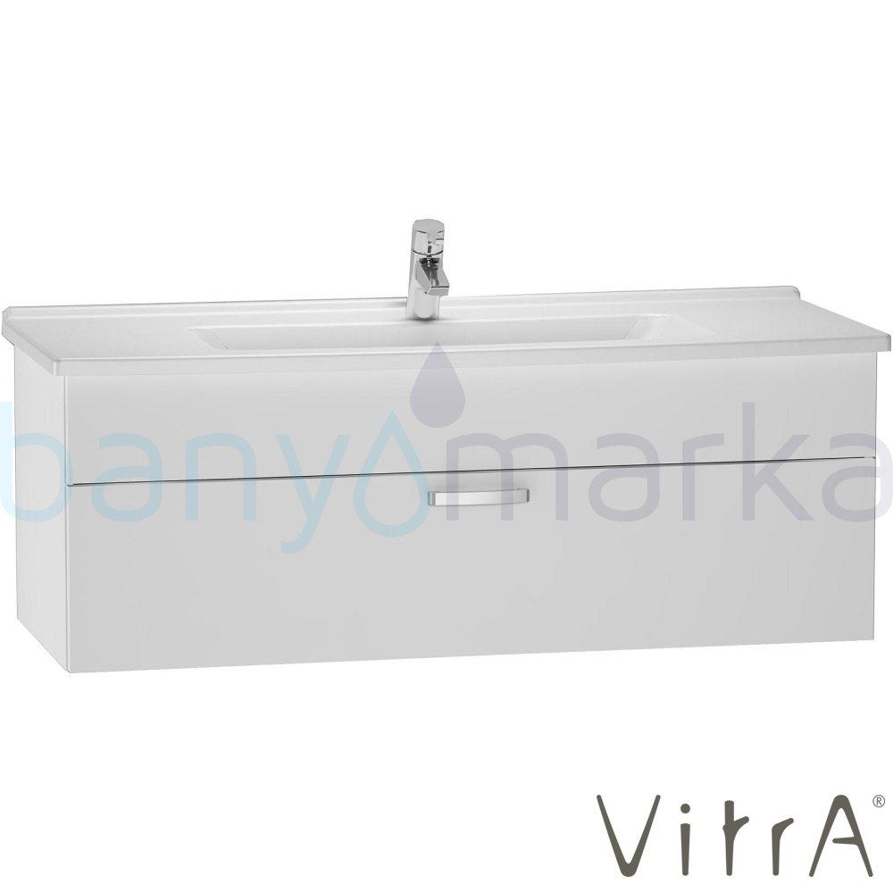 vitra s50 lavabo dolab 120 cm beyaz 5480 lavabo 56072 online sat banyomarka. Black Bedroom Furniture Sets. Home Design Ideas