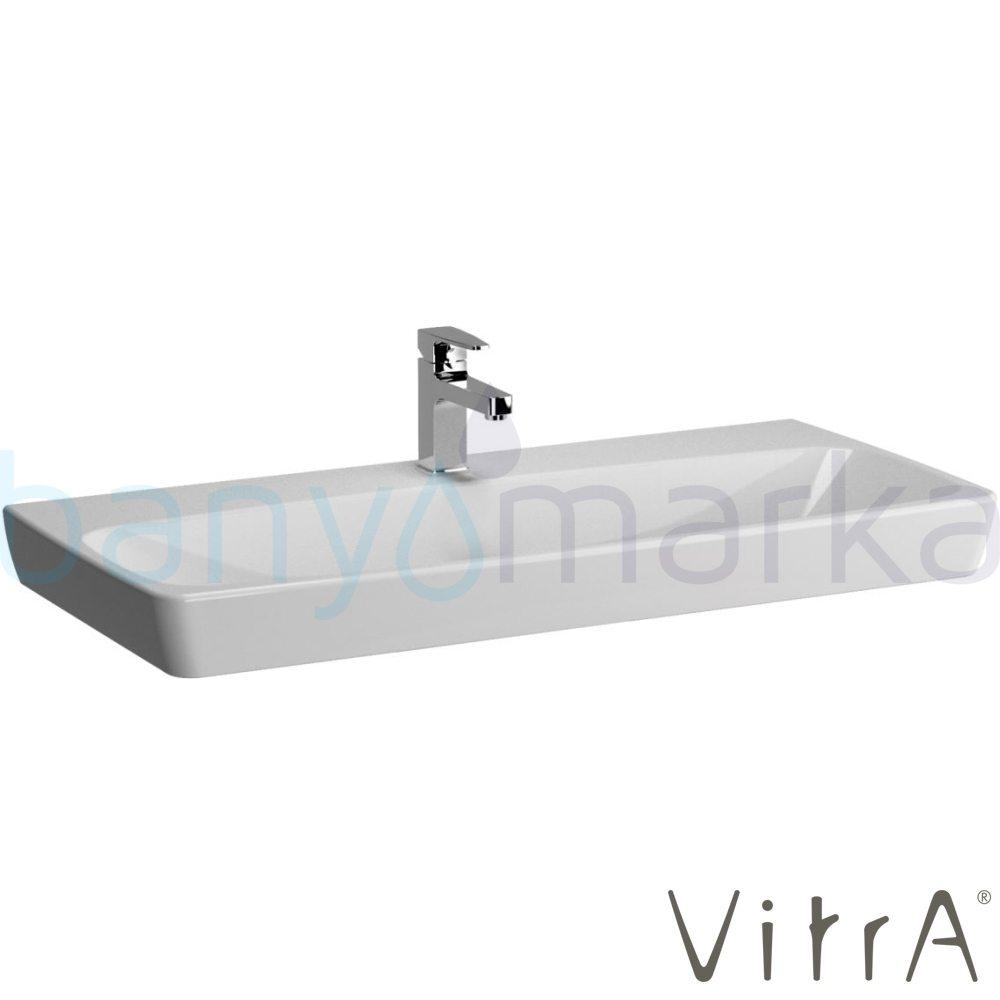 vitra metropole lavabo 100 cm 5664b003 0041 online sat banyomarka. Black Bedroom Furniture Sets. Home Design Ideas