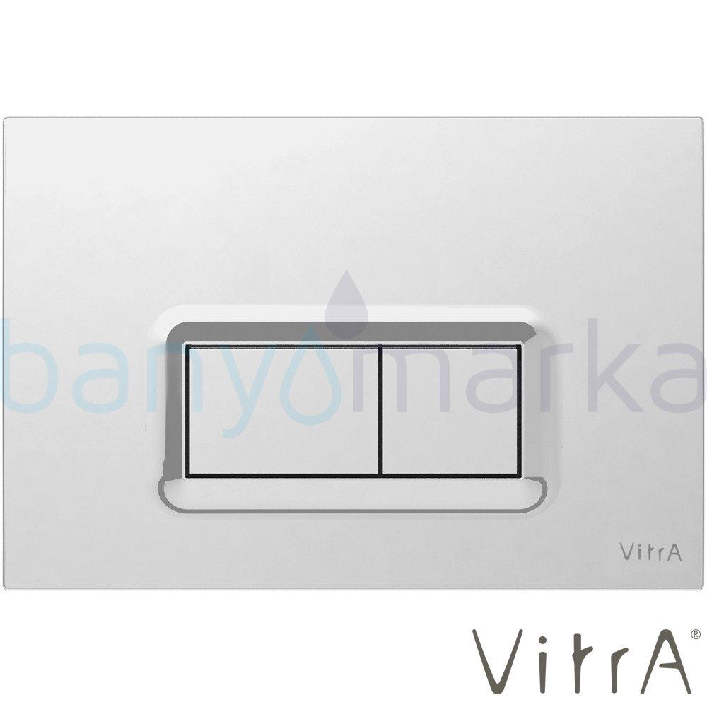 Vitra Loop R Kumanda Paneli, Parlak Krom