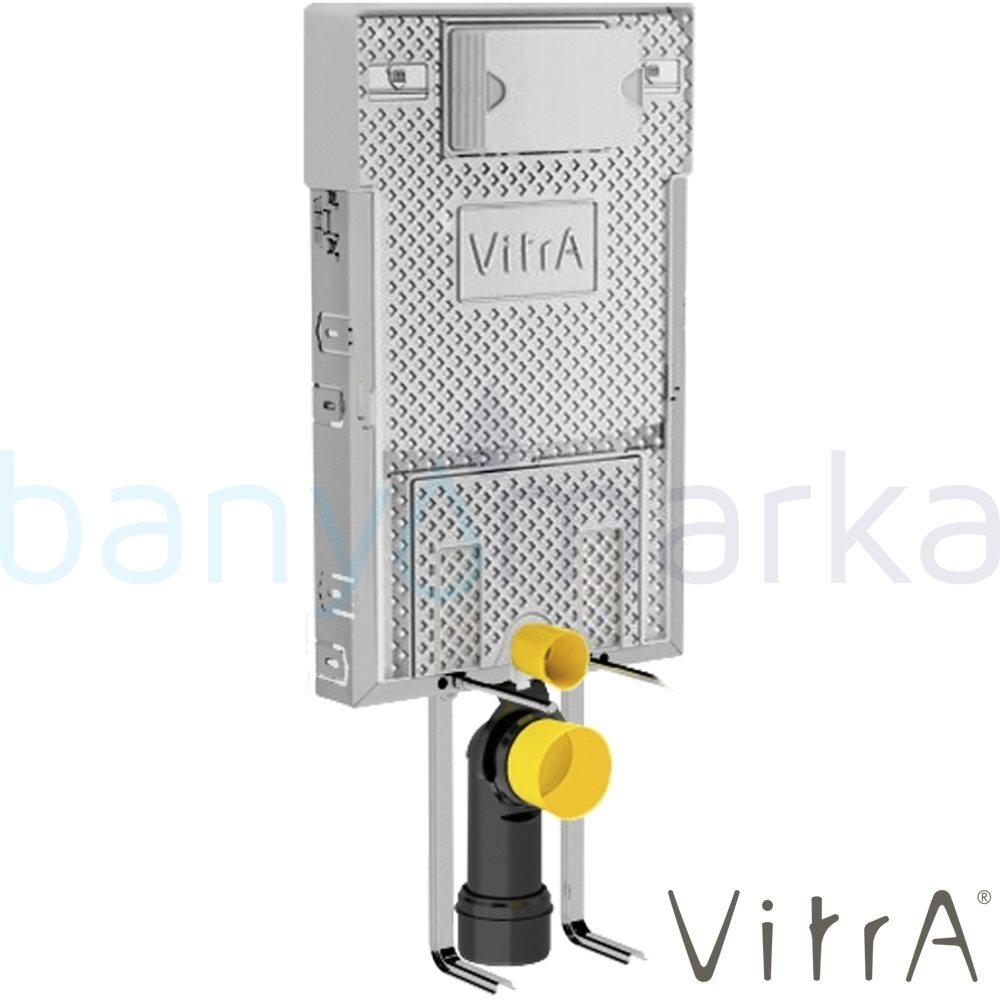 Vitra Pro Gömme Rezervuar, Metal Ayaklı Set, 2,5/4 Litre