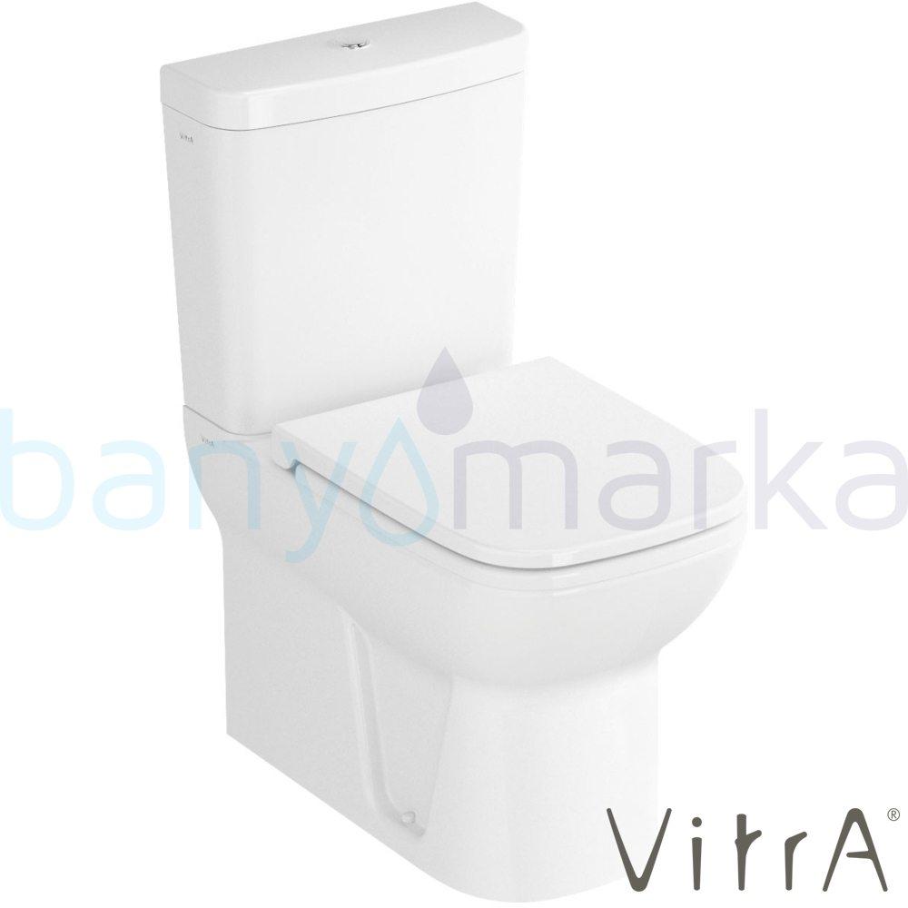 Vitra S20 Klozet-Rezervuar Kombinasyon, (Yavaş Kapanır Kapak ve İç Takım Dahil)