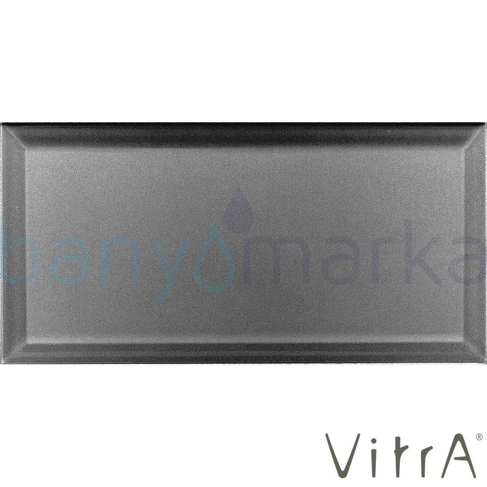 Vitra 10x20 Metro Tiles Siyah Parlak (0,8 m2 fiyatı)