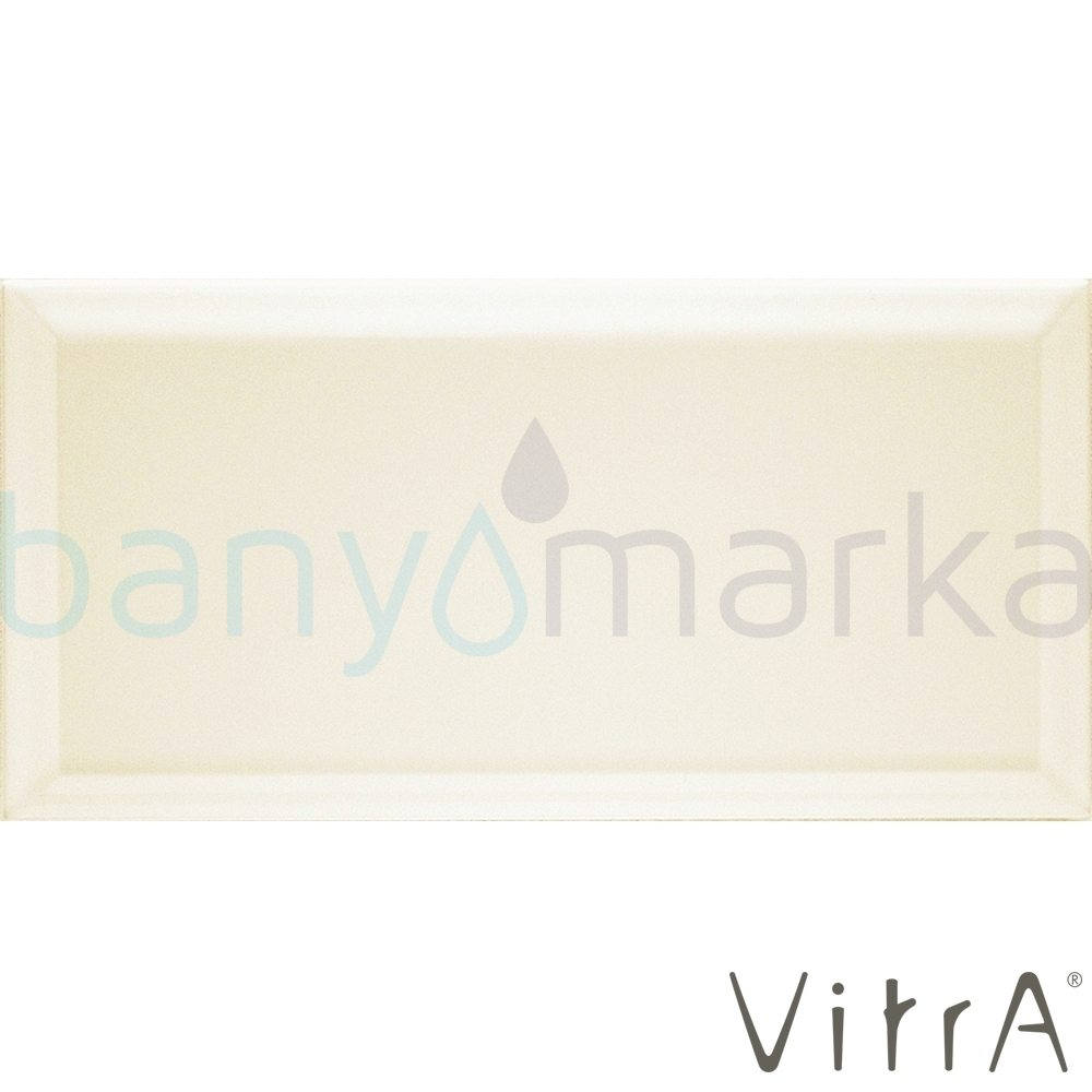 Vitra 10x20 Metro Tiles Krem Parlak (0,8 m2 fiyatı)
