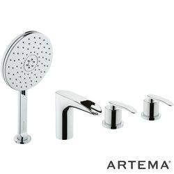 Artema - Artema T4 Küvet Bataryası (4 Delikli-Şelale Akışlı)