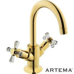 Artema - Artema Juno Swarovski Lavabo Bataryası, Altın