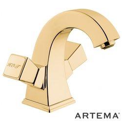 Artema - Artema Elegance Lavabo Bataryası, Altın