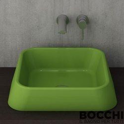 Bocchi - BOCCHI Elba Çanak Lavabo, 42 cm, Fıstık Yeşili