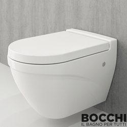 Bocchi - BOCCHI Taormina Arch Asma Klozet, Parlak Beyaz