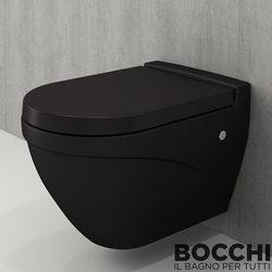 Bocchi - BOCCHI Taormina Arch Asma Klozet, Mat Siyah