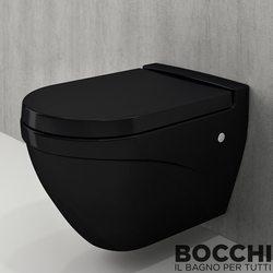 Bocchi - BOCCHI Taormina Arch Asma Klozet, Parlak Siyah