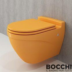 Bocchi - BOCCHI Taormina Arch Asma Klozet, Mandalina Sarısı