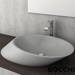 Bocchi - BOCCHI Milano Çanak Lavabo, 56 cm, Gri
